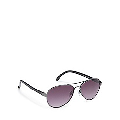 Red Herring - Grey tinted aviator sunglasses