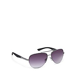 Red Herring - Grey aviator sunglasses