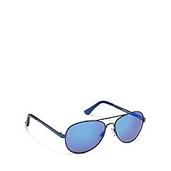Red Herring - Blue aviator sunglasses