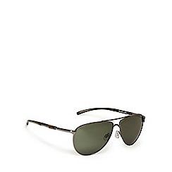 Mantaray - Green aviator sunglasses