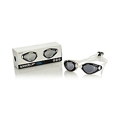 Speedo - White 'Aquapulse' goggles