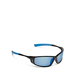 Mantaray - Blue tinted lens polarised wrap around sunglasses