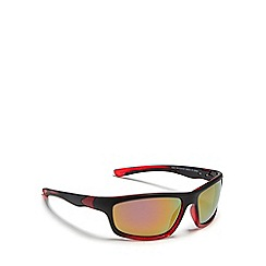 Mantaray - Black two-tone polarized sunglasses