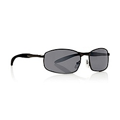 Maine New England - Grey graduating small rectangular sunglasses