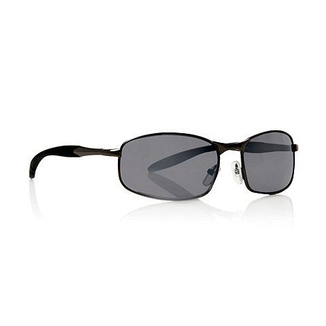 Maine New England - Grey graduating small rectangular sunglasses