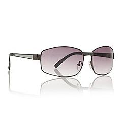 Maine New England - Brown graduating rectangular sunglasses