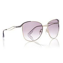 Max & Co - Grey Wavy Armed D-Frame Sunglasses