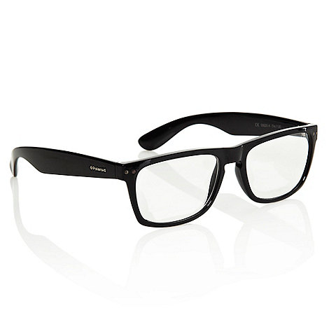 Polaroid - Black chunky D-framed reading glasses