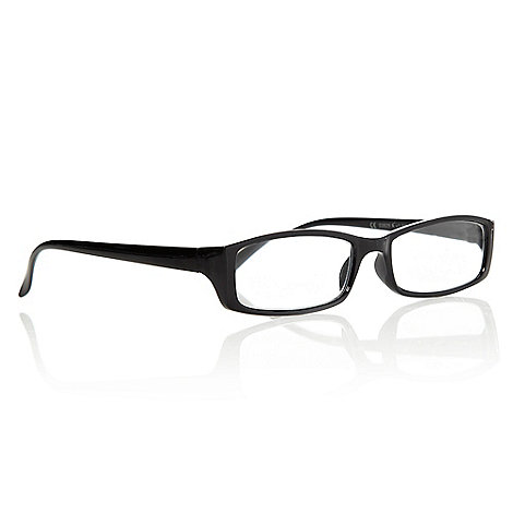Polaroid - Black rectangular reading glasses
