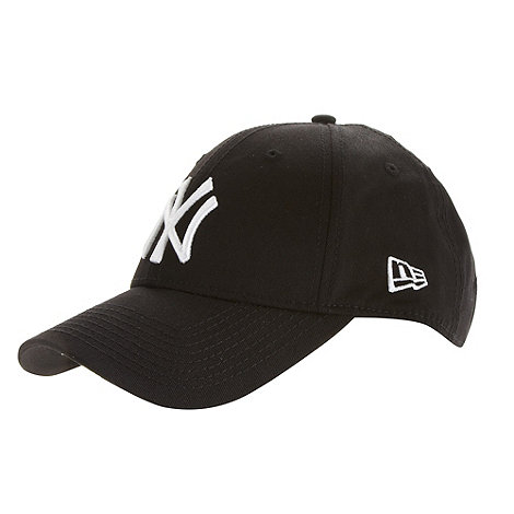 New Era - Black +NY+ logo baseball cap