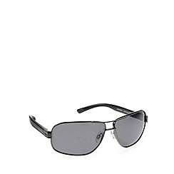 Bloc - Polarized disc gunmetal sunglasses - P288