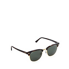 Ray-Ban - RB3016 clubmaster mock tort gold sunglasses