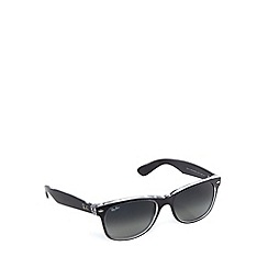 Ray-Ban - RB2132 new wayfarer grey crystal sunglasses