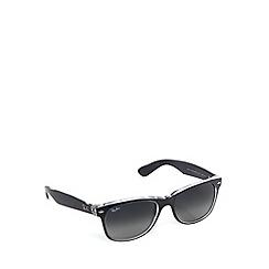 Ray-Ban - RB2132 new wayfarer grey crystal sunglasses