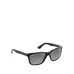 Ray-Ban - RB4181 square wayfarer black sunglasses