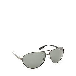Dirty Dog - Polarized crofter gunmetal sunglasses - 52985