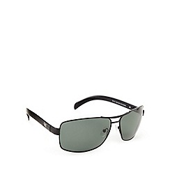 Dirty Dog - Polarized bullet black sunglasses - 53307