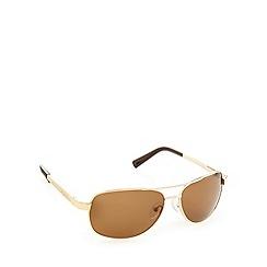 Dirty Dog - Polarized crofter gold sunglasses - 52984