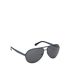 Lacoste - Flat sheet aviator blue sunglasses - L159 SL 424