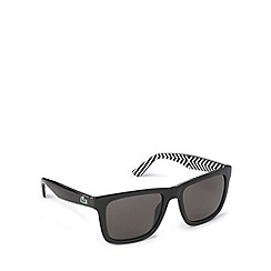 Lacoste - Square d frame black sunglasses - L750 001