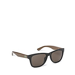 Lacoste - Two tone d frame brown green sunglasses - L734 001