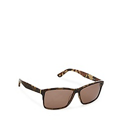 Lacoste - Two tone d frame black brown sunglasses - L705 210