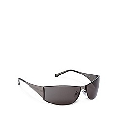 Police - Rimless wrap gunmetal sunglasses - S8295 0531