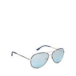 Police - Silver aviator sunglasses - S8743 0589