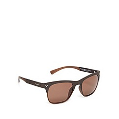 Police - Polarized d frame brown sunglasses - S1950 94CP