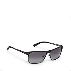 Police - Two tone full frame black grey sunglasses - S8948 0K56