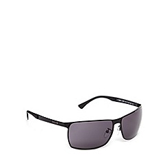 Police - Rimless wrap black sunglasses - S8959 0531