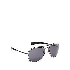 Police - Cutout frame aviator sunglasses - S8960 0627