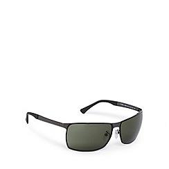 Police - Rimless wrap silver sunglasses - S8959 0627