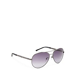 Police - Aviator gunmetal sunglasses - S8746 0584