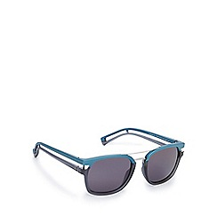 Police - Two tone split arm blue grey sunglasses - S1948 NV8H