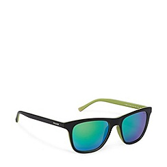 Police - Two tone d frame black green sunglasses - S1936 7VHV