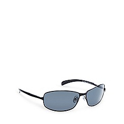 Polaroid - Polarized curved full frame black sunglasses - 214661.KIH.66.Y2