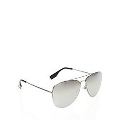 STORM - Stellar aviator silver sunglasses - 9ST340-3