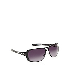 STORM - Elymus cutout metal wrap sunglasses - 9ST470-2