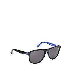 Calvin Klein - Keyhole plastic blablue sunglasses - CK4257 013