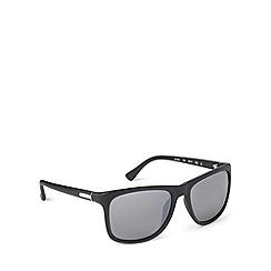 Calvin Klein - Plastic matt black sunglasses - CK3160 052