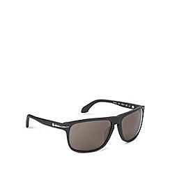 Calvin Klein - Keyhole plastic wrap black sunglasses - CK4217 052