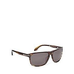 Calvin Klein - Keyhole plastic wrap tort sunglasses - CK4217 103