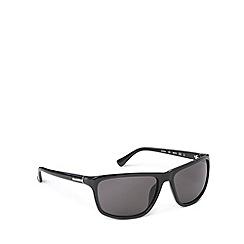 Calvin Klein - Square plastic black sunglasses - CK3161 001