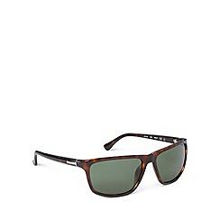 Calvin Klein - Square plastic tort sunglasses - CK3161 004
