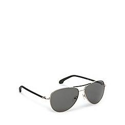 Calvin Klein - Brow bar aviator green detail sunglasses - CK1184 071