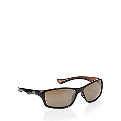 Animal - Brown grooved temple sunglasses