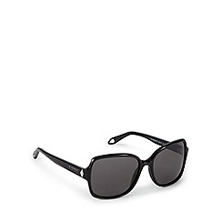 Givenchy - Grey tinted logo arm square sunglasses