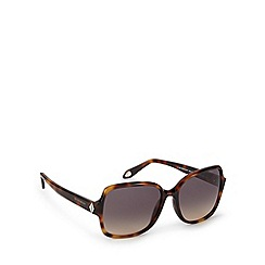 Givenchy - Grey tinted tortoiseshell square sunglasses