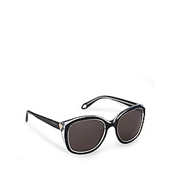 Givenchy - Brown tinted logo arm round sunglasses